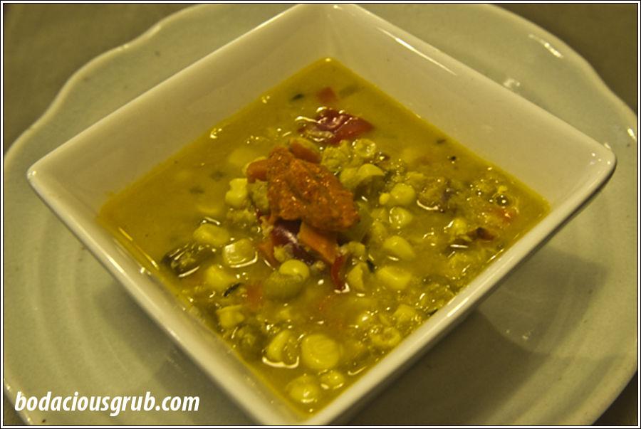 Sweet Corn Chowder - Bodacious Grub Style