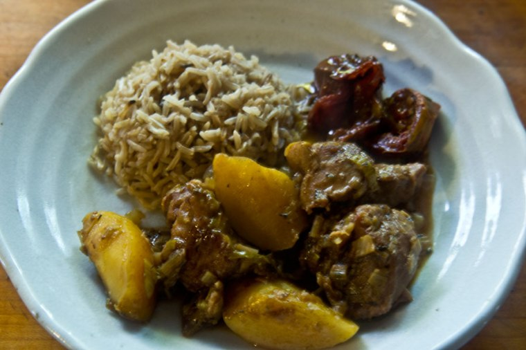 Bodacious Duroc Pork and Apple Stew