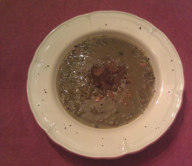 Split Pea Pig Trotter Soup