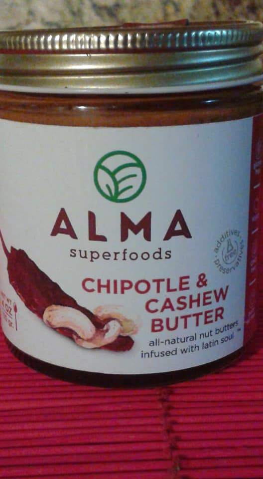 Alma Superfoods Chipotle & Cashew Butter