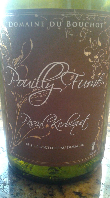 2006 Domaine Du Bouchot Pouilly Fume - surprisingly alive