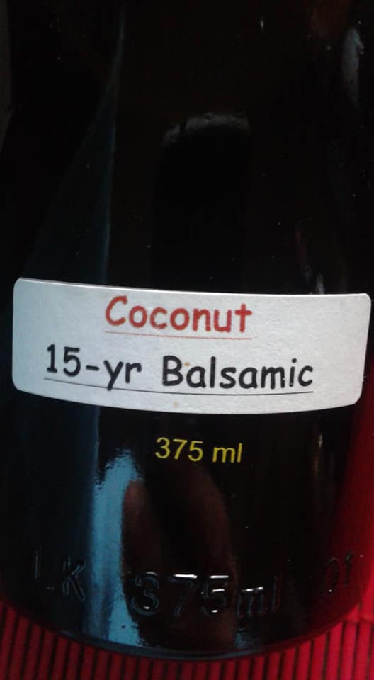 Coconut Infused Balsamic