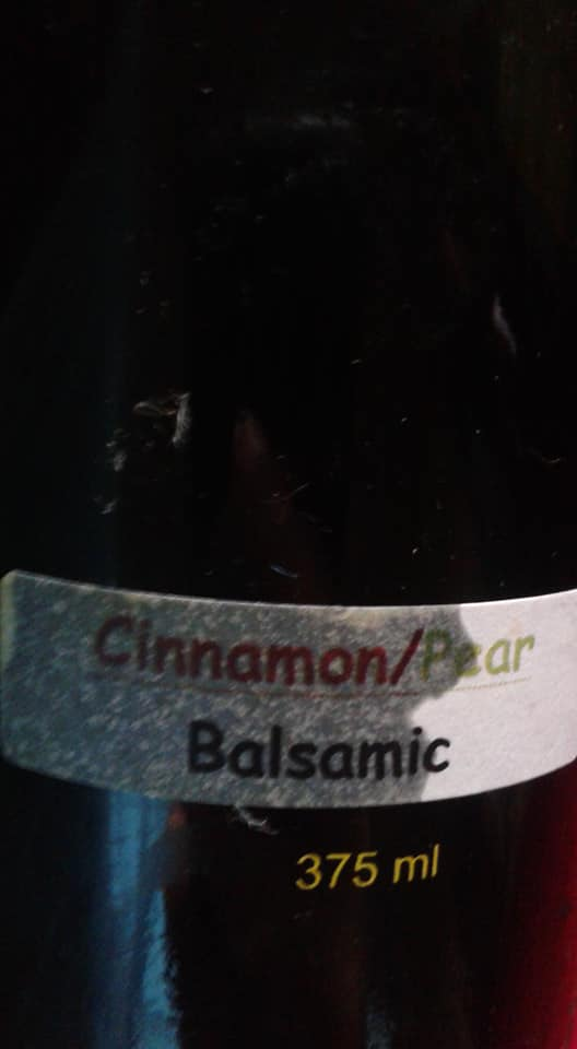 Cinnamon/Pear Infused Balsamic