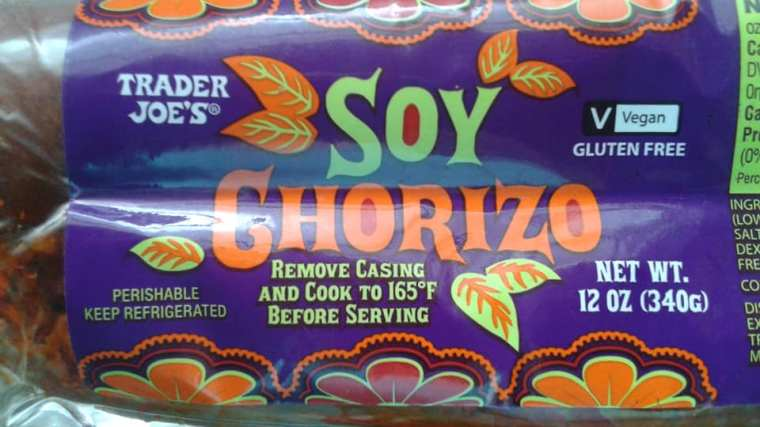 Trader Joe's Soy Chorizo - Yummy