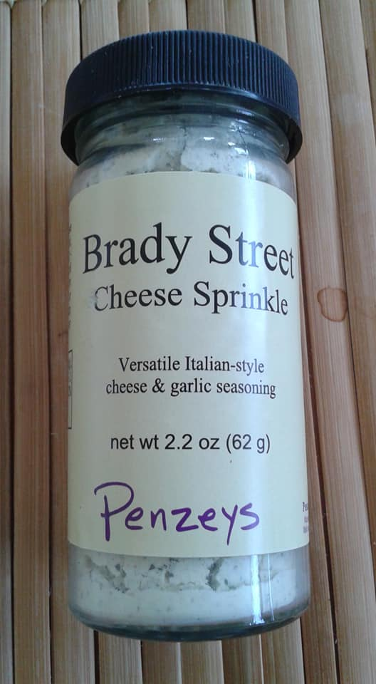 Penzeys Brady Street Cheese Sprinkle